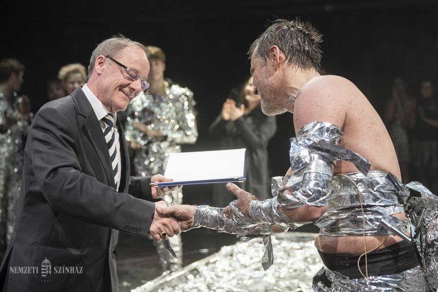 Trill Zsolt színművész Sík Ferenc-nívódíjas