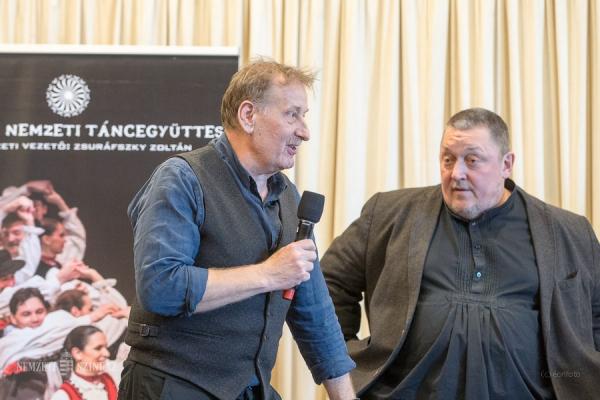 Rádió Interjú Zsuráfszky Zoltánnal és Vidnyánszky Attilával