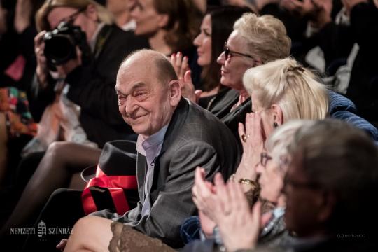 A Magyar Művészeti Akadémia Életműdíját kapta Bodrogi Gyula, társulatunk tagja