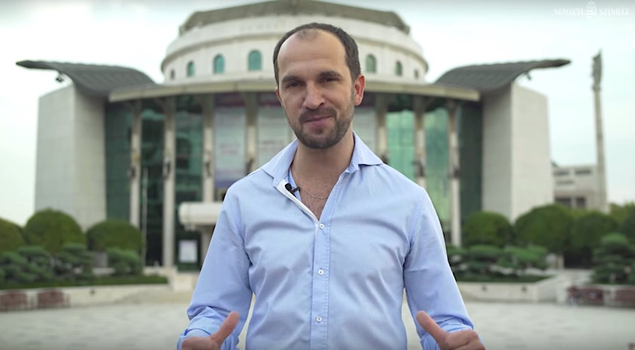 Bakos-Kiss Gábor a Nyílt Nap házigazdája