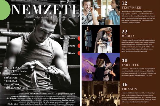 Képmutatás, színész-testvérek, olimpia - megjelent a Nemzeti Magazin!