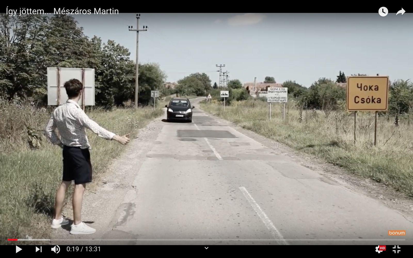 Így jöttem - Mészaros Martin