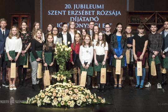Szent Erzsébet rózsája díjátadó jótékonysági gálaest