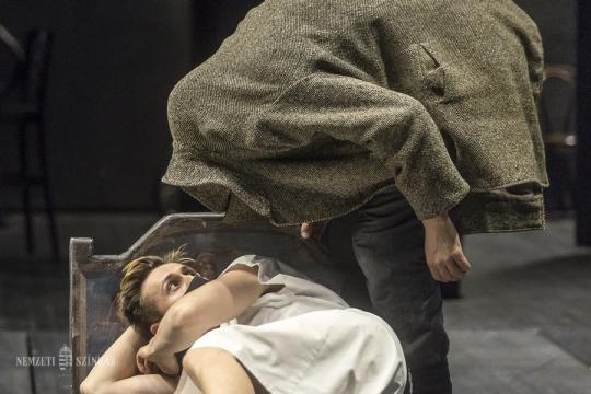 Folynak A Mester és Margarita próbái a Nemzeti Színházban