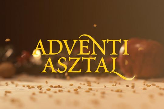 ADVENTI ASZTAL
