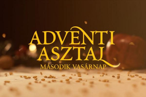Adventi Asztal - második vasárnap