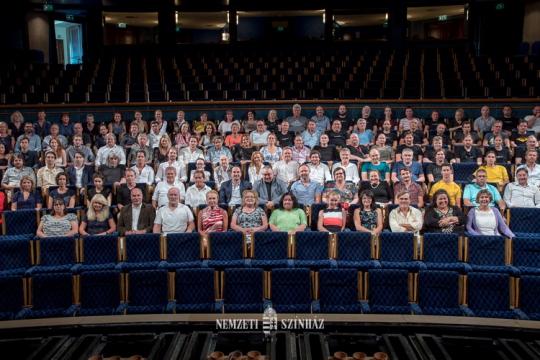 Megtartotta évadnyitó társulati ülését a Nemzeti Színház