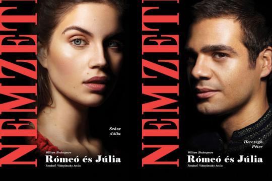 A Nemzeti Rómeó és Júlia plakátjai árasztották el Budapestet