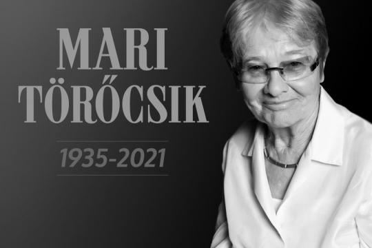 Rest in Peace, Mari Törőcsik!
