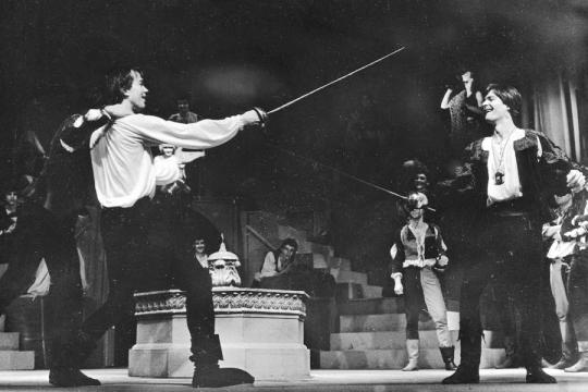Ez a Mercutio és Tybald című darab...