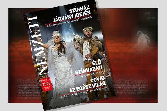 Színház járvány idején - A Nemzeti Magazin tematikus online kiadása