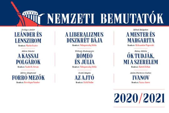 A 2020/2021-es ÉVAD BEMUTATÓI