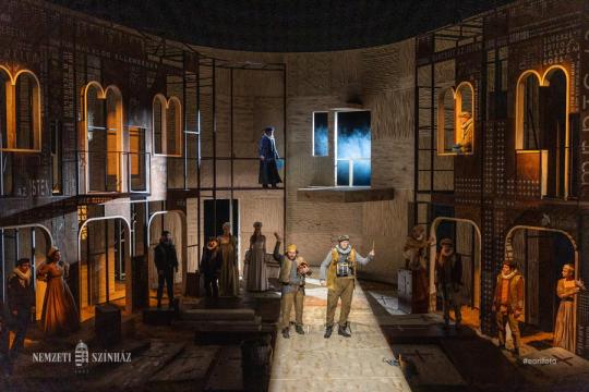 Vállunkra venni  aszerelemnek terhét - Vidnyánszky Attila rendező a Rómeó és Júliáról