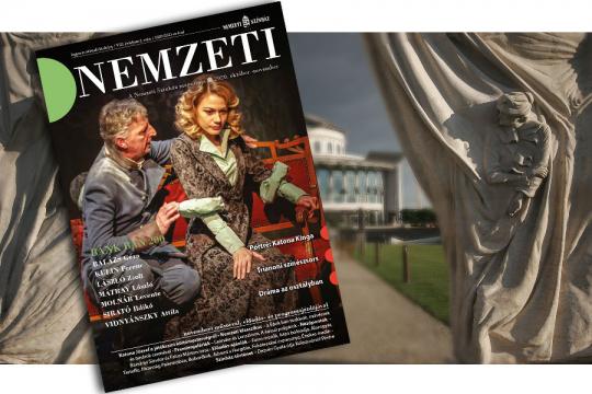 Dráma: osztályban, színpadon - Megjelent a Nemzeti Magazin új száma