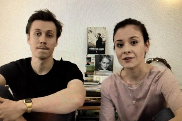 Mészáros Martin és Barta Ági