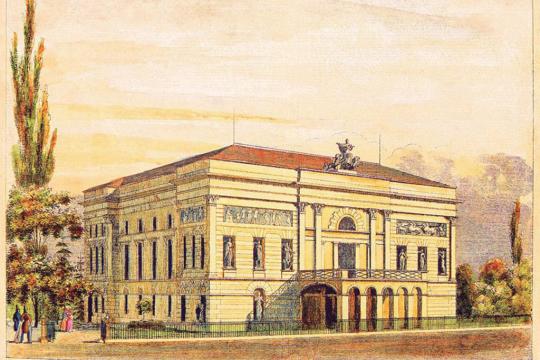 Egressy Gábor és a Nemzeti Színház