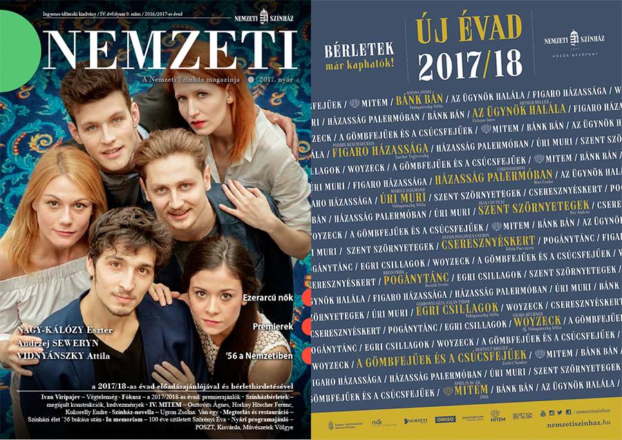 Új évad, a Kossuth-díjas Nagy-Kálózy, Seweryn, MITEM visszhang