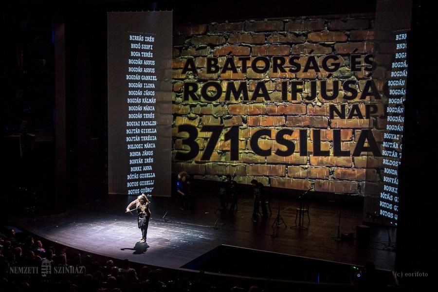 Emlékezés a Bátorság és a Roma Ifjúság napjára