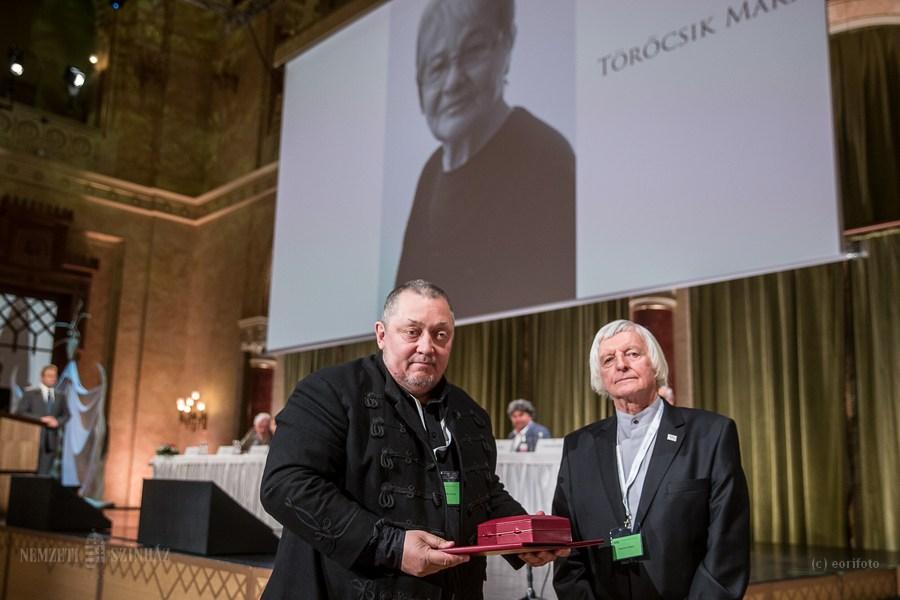 Törőcsik Marit a Magyar Művészeti Akadémia Nagydíjával tüntették ki