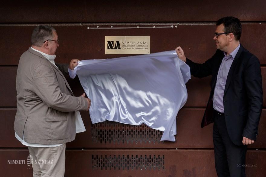 Németh Antal nevét viseli a kaposvári Színművészeti és Kulturális Központ