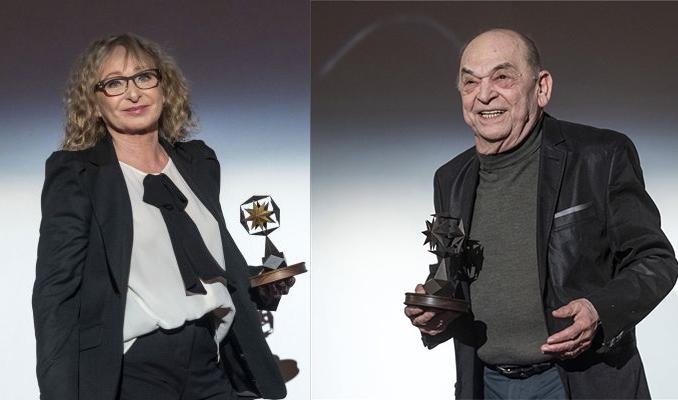 Társulatunk két tagja, Bánsági Ildikó és Bodrogi Gyula is Életműdíjat kapott a Magyar Filmhét megnyitóján