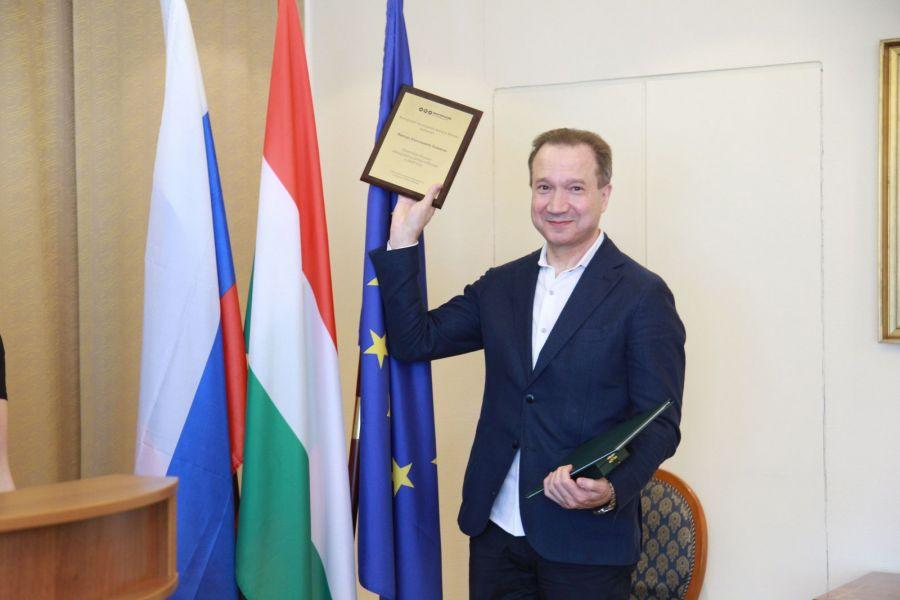 Magyar kitüntetést kapott Viktor Rizsakov orosz rendező