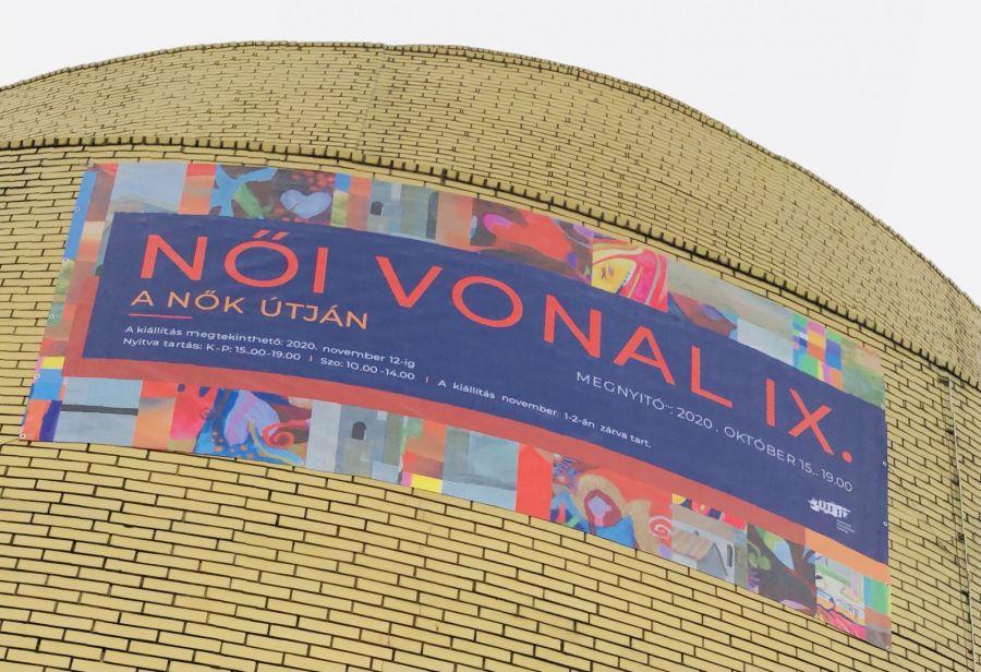 Női vonal IX - Új kiállítás a Zikkuratban