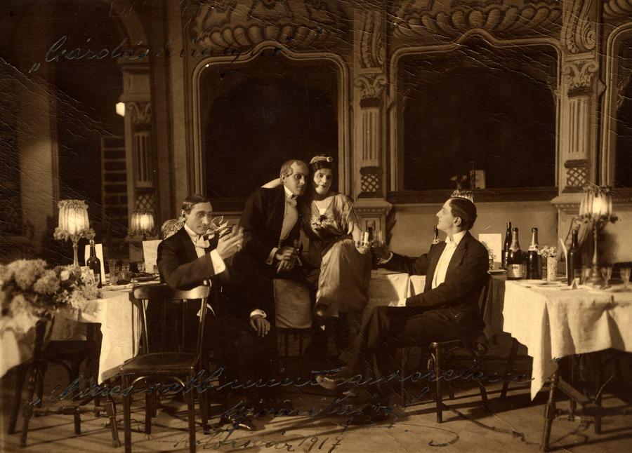 Trianon és a színház • 1