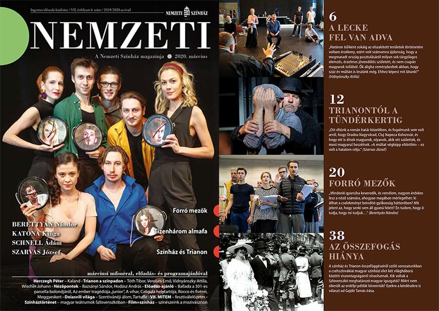 Lecke, krimi, Trianon - Olvasnivalók a Nemzeti Magazin friss számából