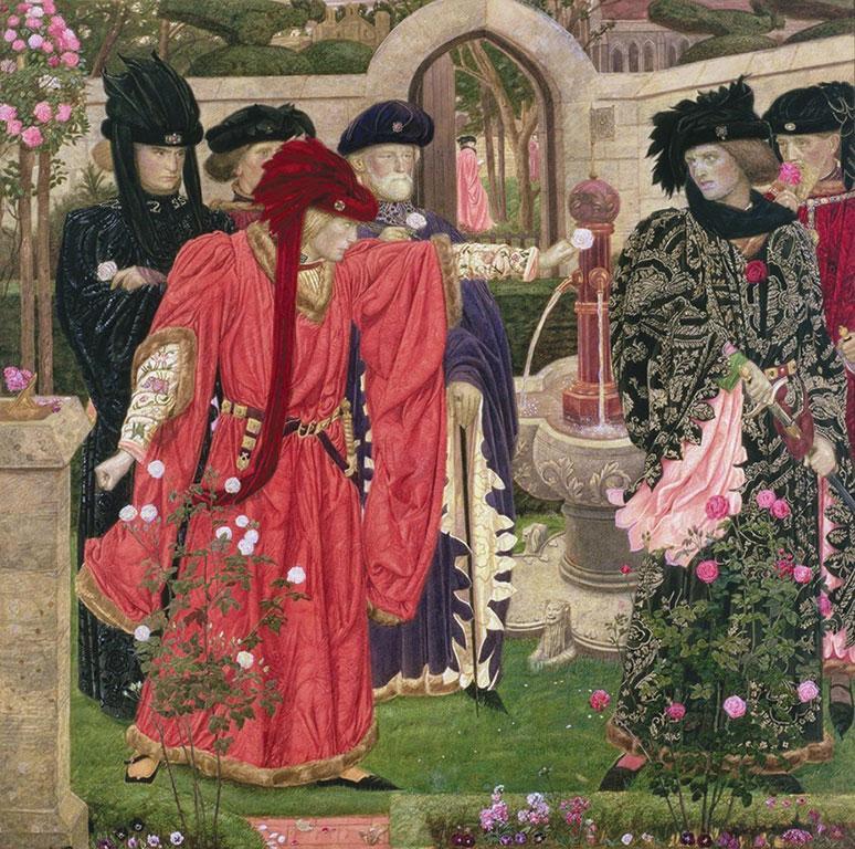 A Shakespeare-drámák rózsa-szimbolikája